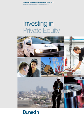 Dunedin Enterprise Investment Trust annual report 2013