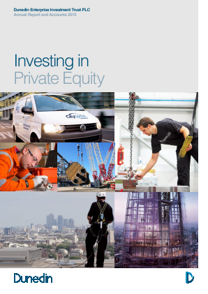 Dunedin Enterprise Investment Trust annual report 2015