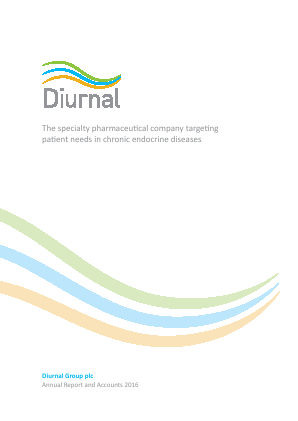Diurnal Group annual report 2016