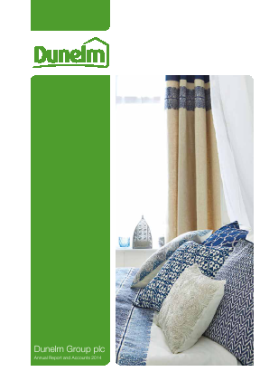 Dunelm Group Plc annual report 2014