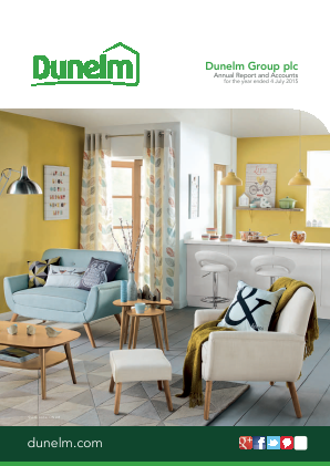 Dunelm Group Plc annual report 2015