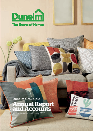 Dunelm Group Plc annual report 2017