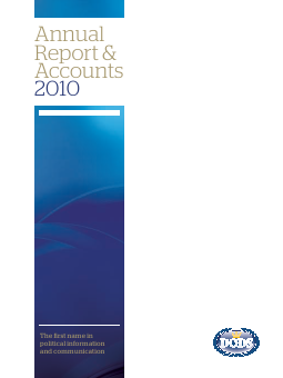 Dods(Group)plc annual report 2010