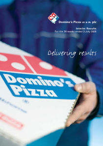 Dominos Pizza Group Plc annual report 2004