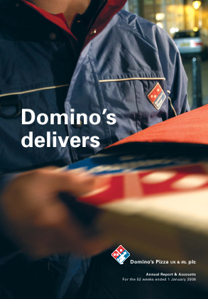 Dominos Pizza Group Plc annual report 2005