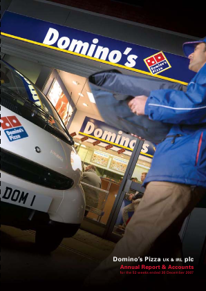 Dominos Pizza Group Plc annual report 2007