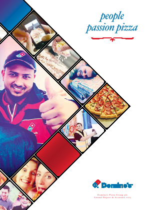 Dominos Pizza Group Plc annual report 2013
