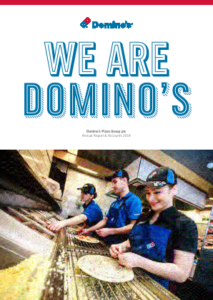 Dominos Pizza Group Plc annual report 2014