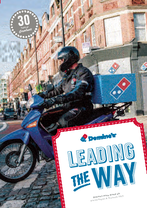 Dominos Pizza Group Plc annual report 2015