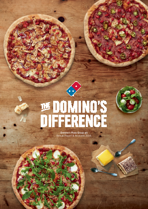 Dominos Pizza Group Plc annual report 2016