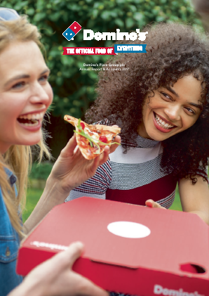 Dominos Pizza Group Plc annual report 2017