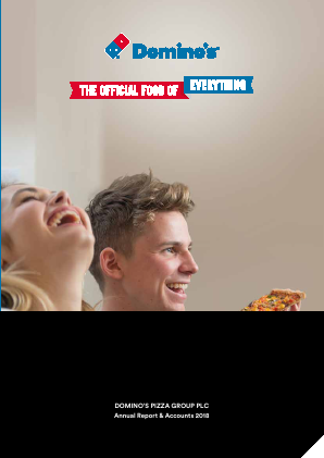 Dominos Pizza Group Plc annual report 2018