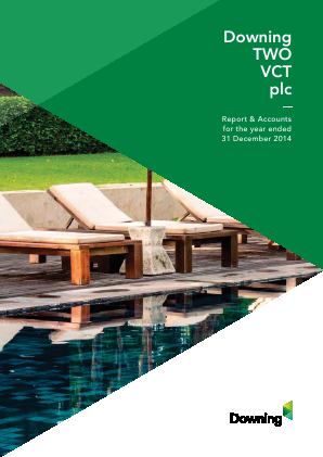 Downing Two VCT Plc annual report 2014