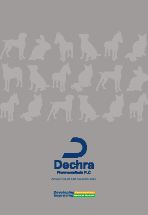 Dechra Pharmaceuticals annual report 2005