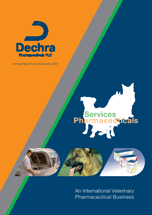 Dechra Pharmaceuticals annual report 2007