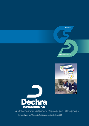 Dechra Pharmaceuticals annual report 2008