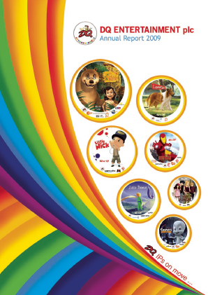 Dq Entertainment Plc annual report 2009