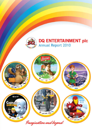 Dq Entertainment Plc annual report 2010