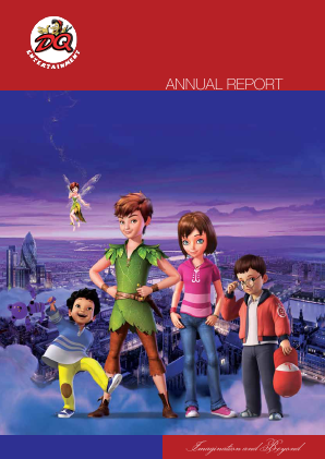 Dq Entertainment Plc annual report 2013
