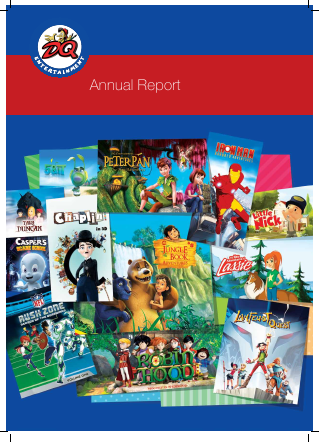 Dq Entertainment Plc annual report 2014