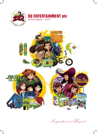 Dq Entertainment Plc annual report 2015