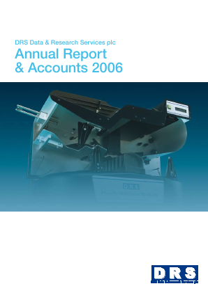 DRS Data & Research Services annual report 2006