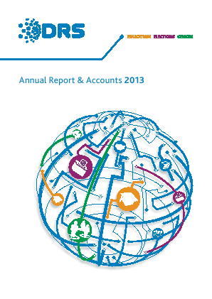DRS Data & Research Services annual report 2013
