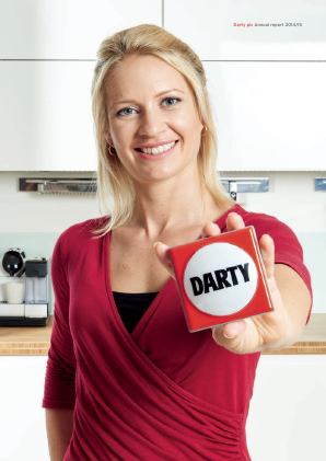 Darty Plc annual report 2015
