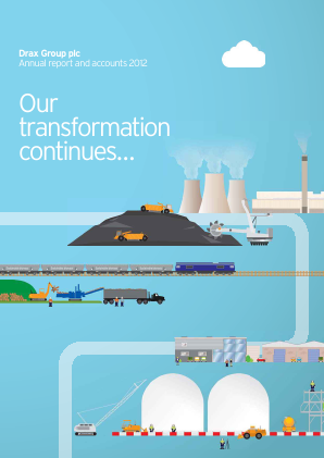 Drax Group annual report 2012