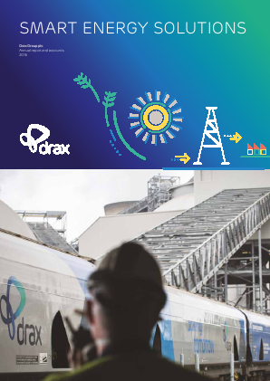 Drax Group annual report 2016