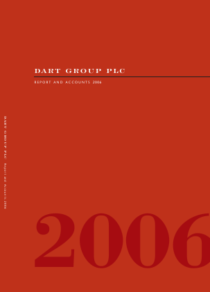 Dart Group Plc annual report 2006