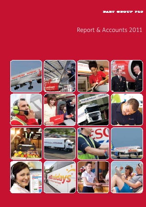 Dart Group Plc annual report 2011