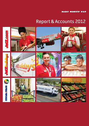 Dart Group Plc annual report 2012