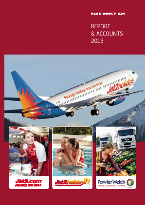 Dart Group Plc annual report 2013