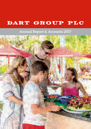 Dart Group Plc annual report 2017