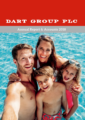 Dart Group Plc annual report 2018