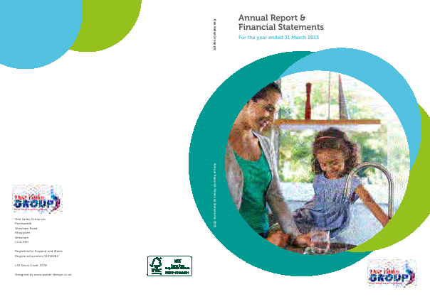 Dee Valley Group annual report 2015