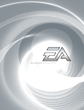 Electronic Arts Inc. annual report 2004