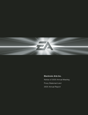 Electronic Arts Inc. annual report 2005