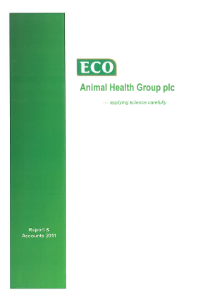 Eco Animal Health Group Plc annual report 2011