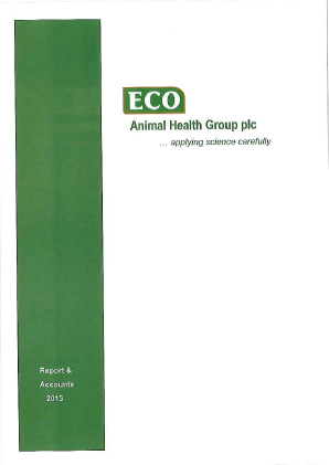 Eco Animal Health Group Plc annual report 2013