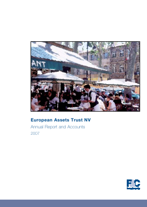 European Assets Trust NV annual report 2007