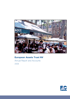 European Assets Trust NV annual report 2008