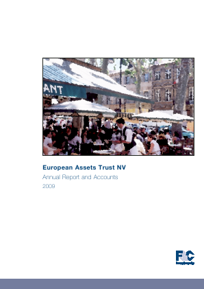 European Assets Trust NV annual report 2009