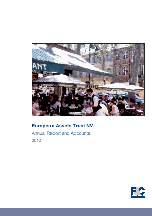 European Assets Trust NV annual report 2012