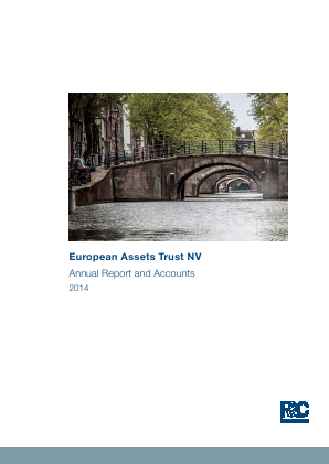 European Assets Trust NV annual report 2014