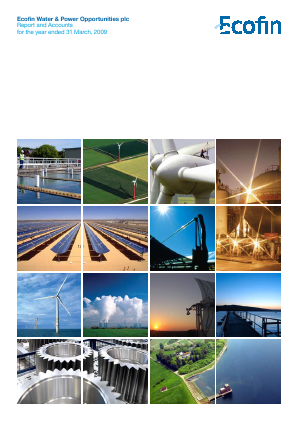 Ecofin Global Utilities and Infrastructure Trust plc (formally Ecofin Water & Power Opportunities) annual report 2009