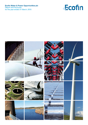 Ecofin Global Utilities and Infrastructure Trust plc (formally Ecofin Water & Power Opportunities) annual report 2010
