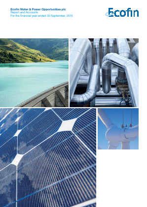 Ecofin Global Utilities and Infrastructure Trust plc (formally Ecofin Water & Power Opportunities) annual report 2015