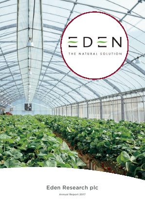 Eden Research annual report 2017
